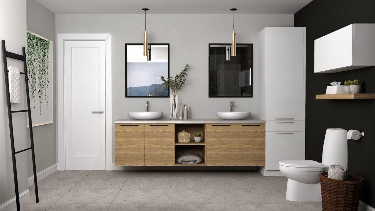 C-394 : Salle de bain Rendu 3D
