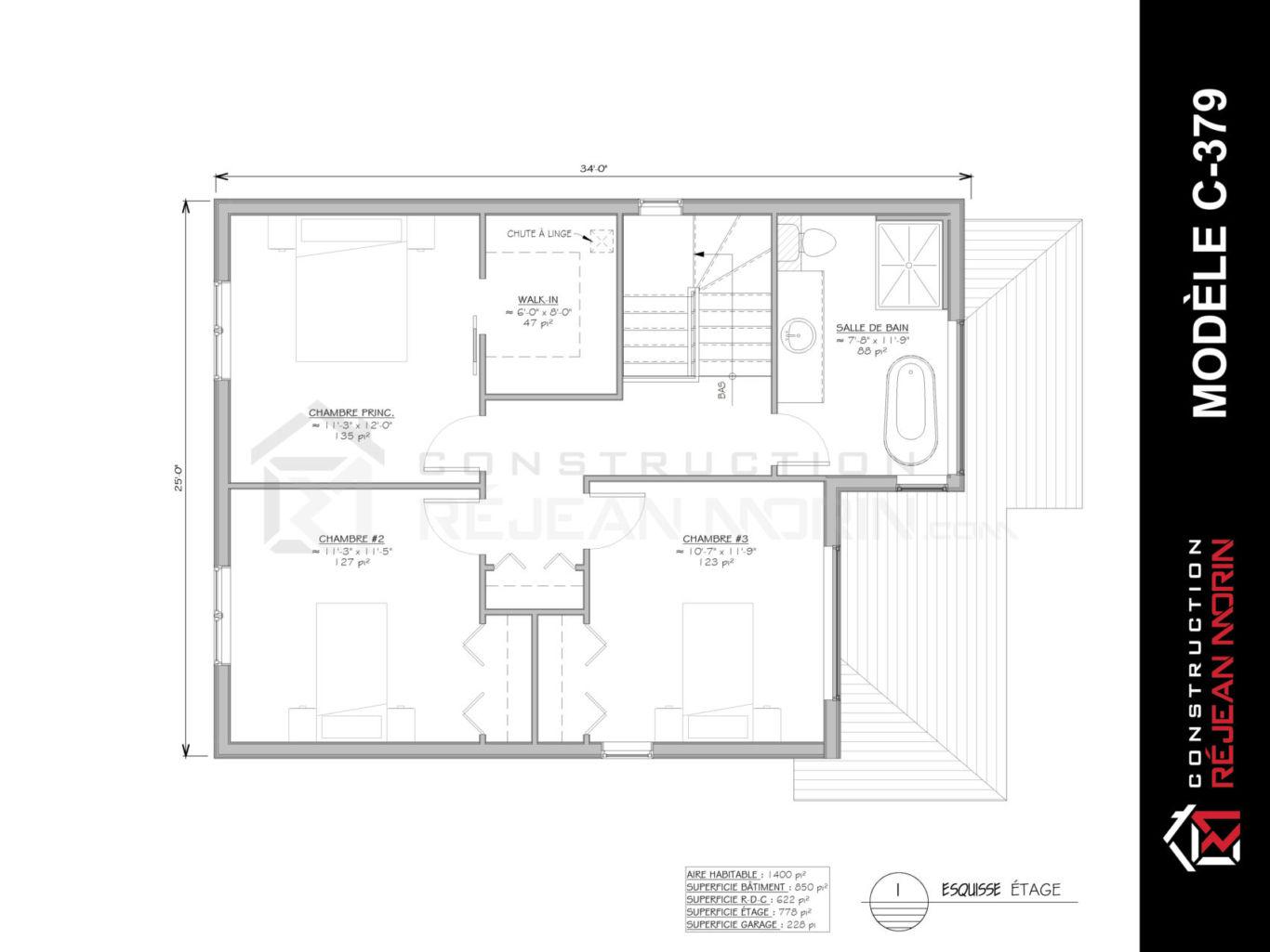 Superficie Minimum Salle De Bain maison unifamiliale 2 étages avec garage à vendre à lévis